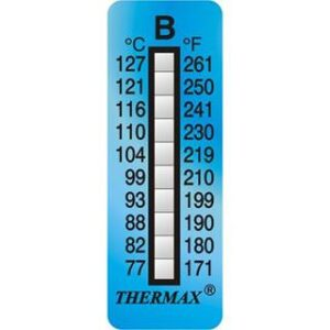 10 level strip temperature gauge thermax