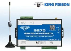 King Pigeon S270 Online Datalogger GSM 3G 4G M2M RTU