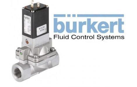 Burkert Type 5282 Servo-assisted 2/2-way Diaphragm Valve