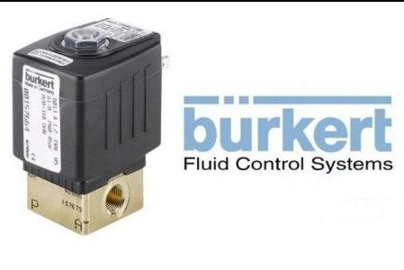Burkert Type 6013 Plunger Valve 2/2 Way Direct-acting