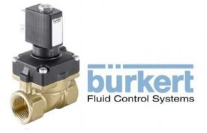 Burkert Type 6211 Diaphragm Valve 2/2 Way Servo-assisted