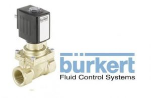 Burkert Type 6281 Servo-assisted 2/2 Way Diaphragm Valve