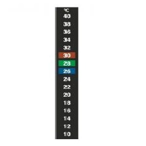 Thermax 16 Level Thermometer - Liquid Crystal Thermometers